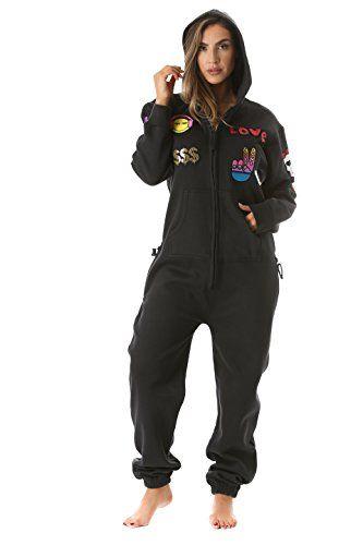 Girls Fairisle Onsiel Childrens Fleece Teen Jumpsuit All In One Sleepsuit 7 14 Y