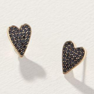 Boucles d'oreilles en forme de cœur délicat
