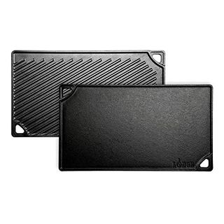 Pre-Seasoned Cast Iron Reversible Grill/Griddle