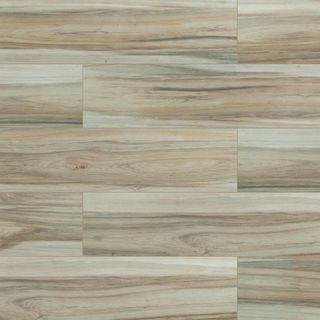 Azulejos para piso y pared de cerámica vidriada Ansley Amber de 9 x 38 pulg. (14.25 pies cuadrados / caja)