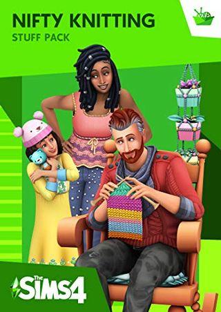 The Sims 4 Nifty Knitting Stuff (Origin code)