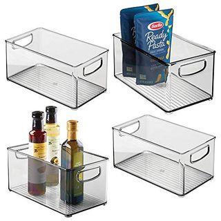 Plastic Stackable Storage Bins