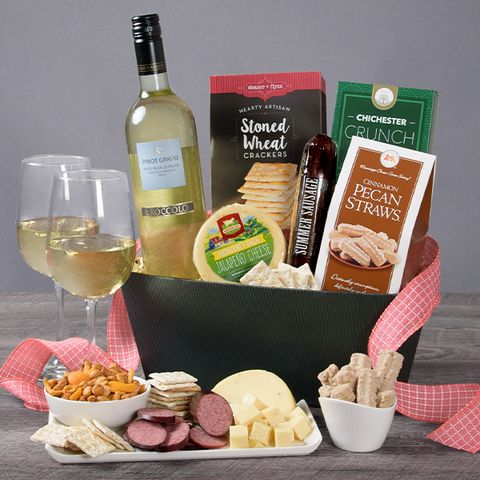 10 Best Wine And Cheese Gifts 2020 Best Wine Gift Baskets