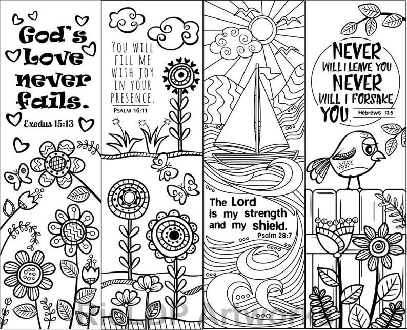 Bible Verse Coloring Pages - Christian Coloring Books For Adults