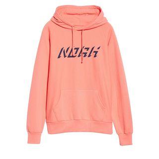 NOAH Logo Raglan Fleece Hoodie