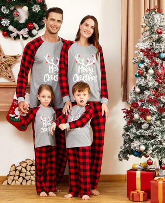 Kehen Adult and Baby Family Matching Pajamas Christmas Onesie Jumpsuit Holiday PJ