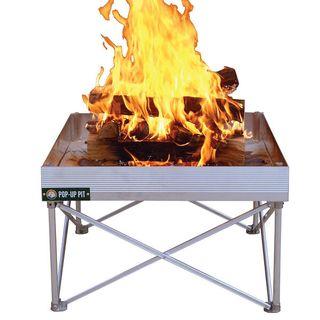 Pop-Up Aluminum Fire Pit