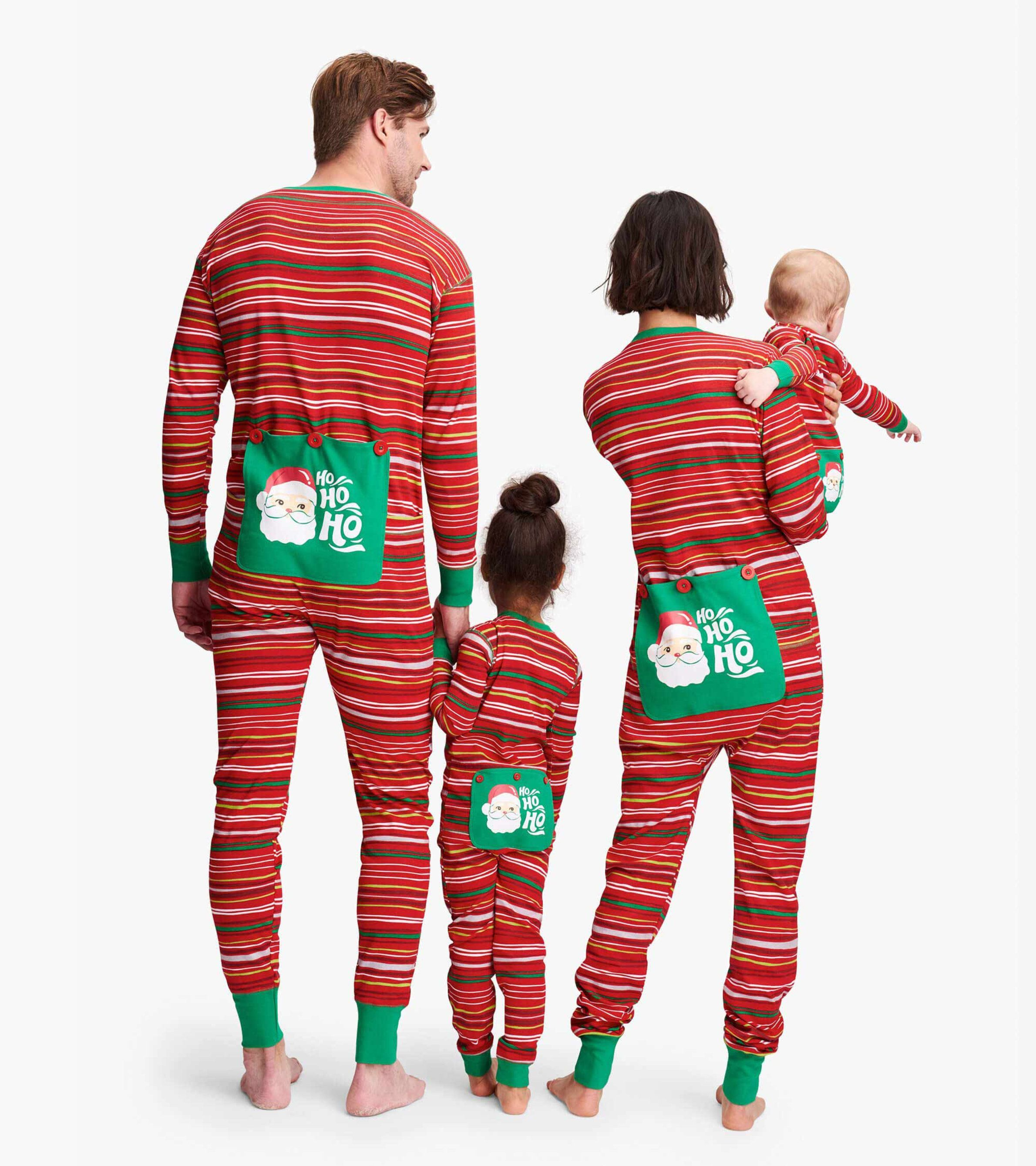 Seogva Christmas Suit Pajamas Christmas Family Matching Sets Sleepwear Family Long Sleeve Set pjs,Red