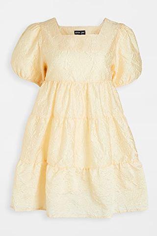 Buttercup Puff Sleeve Mini Dress