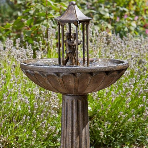 14 Best Solar Water Features To In 2021, Outdoor Solar Water Features Uk