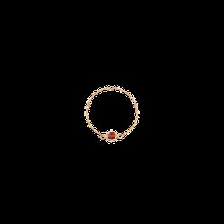 Birthstone Bezel Ring