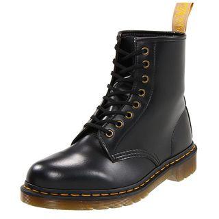 Vegan Smooth Combat Boots