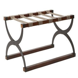 Cooper Mixed Material Luggage Rack