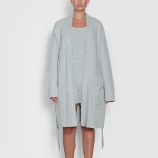 Cozy Knit Short Robe