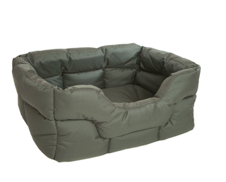 P&L Country Dog Robust rectangular high-sided waterproof high-performance dog beds in 3 sizes, medium, large and XL / Jumbo