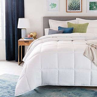 White Quilted Comforter