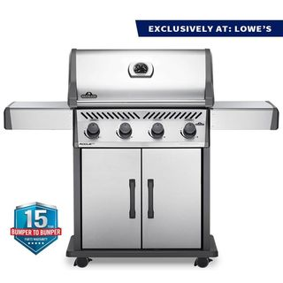 NAPOLEON Rogue XT 4-burner natural gas grill made of stainless steel