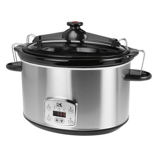 Caloric 8 Qt.  Stainless steel slow cooker