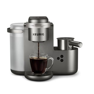 Keurig K-Cafe Special Edition Nickel Single Serve Coffee Maker