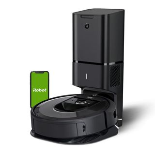 iRobot Roomba i7 + Wi-Fi connected robotic vacuum cleaner with automatic debris removal