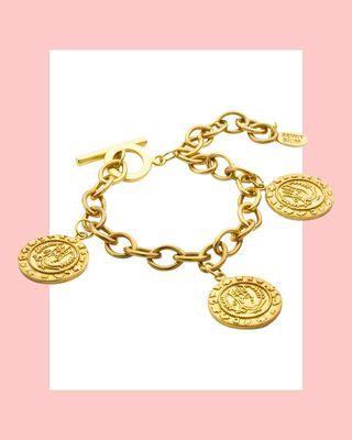Bracelet à breloques Axum Coin
