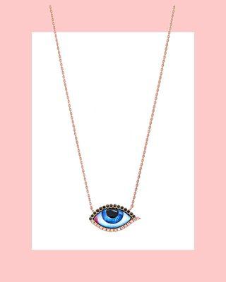 Petit Bleu Diamond Necklace
