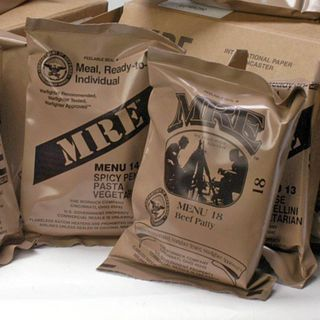 Meals Ready-to-Eat Genuine U.S. Military Surplus (4 Pack)