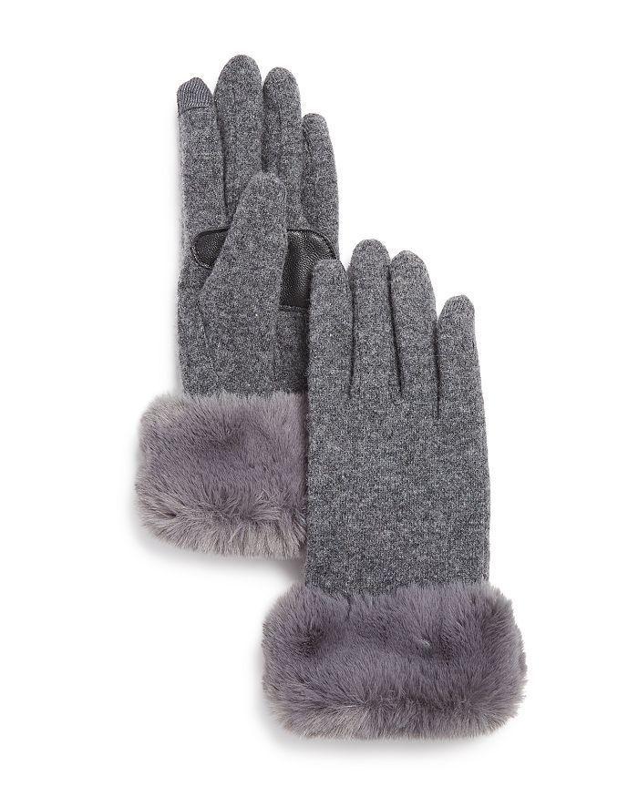 Ladies Super Soft Warm Fine Knit Thermal Finger less Winter Gloves