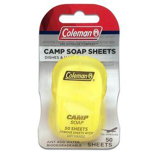 Dish and Hands Camp Soap Sheets (50 Sheets)