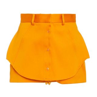 Paneled Mini Shorts