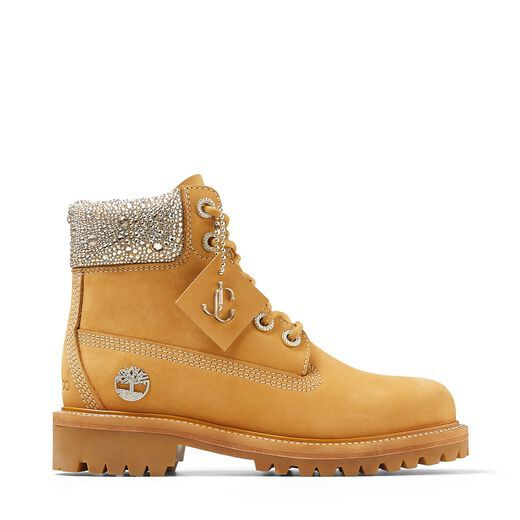 Jimmy Choo x Timberland Sparkly Boots