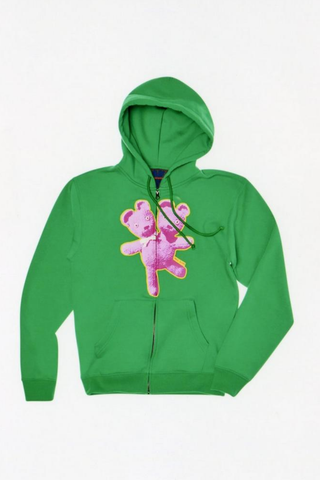 Double-Headed Teddy Zip Hoodie