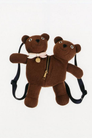 Double-Headed Teddy Backpack