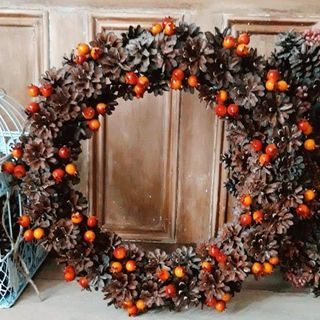 Autumn wreath / fall wreath