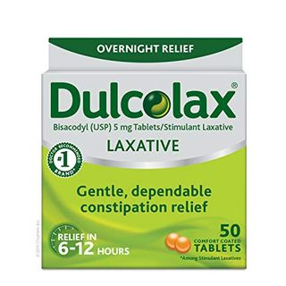 Laxative Tablets, 50 Count