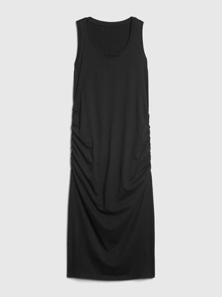 Maternity Shirred Midi Dress, £44.95