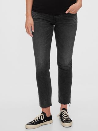 Maternity Full Panel Cigarette Jeans, £49.95