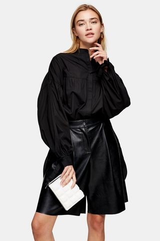 Black Oversized Babydoll Shirt, £29.99