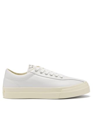 Dellow leather trainers