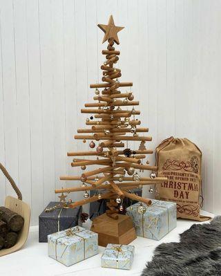 Sapin de Noël en chêne