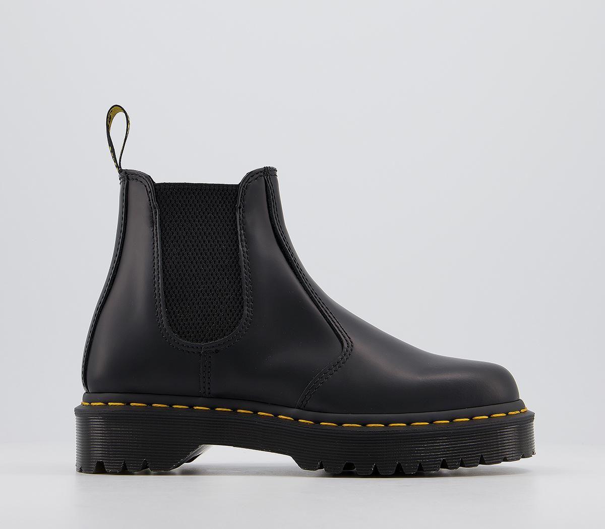 black shoe boots office