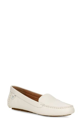 Flores Leather Driving Loafers