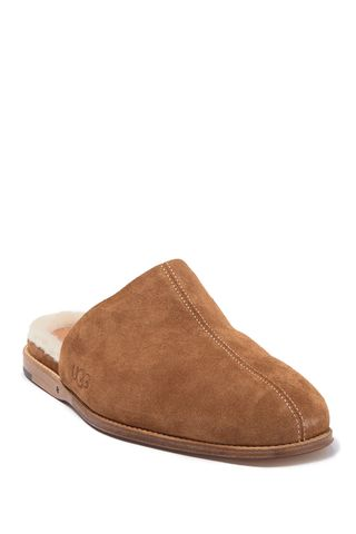 Chateau Shearling Lined Slippers