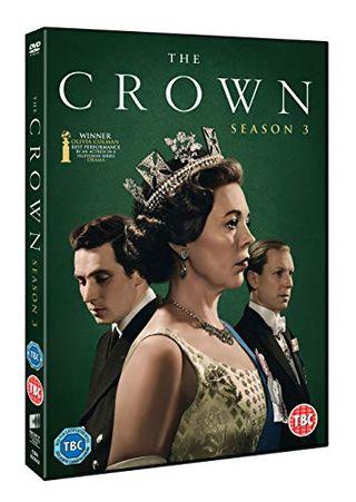The Crown season 3 with Amazon exclusive box artwork