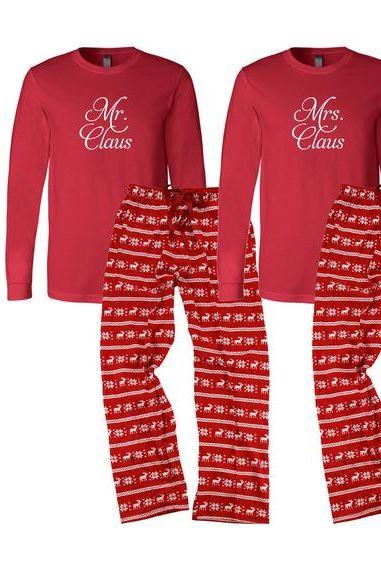Best His And Hers Christmas Pyjamas Couples Christmas Pyjama Sets 2020