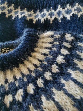 Handmade Icelandic Wool Jumper, £155