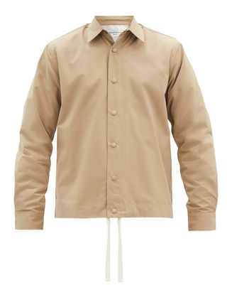 Stan cotton-poplin overshirt