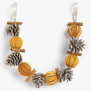 Scented Pine Cone Garland