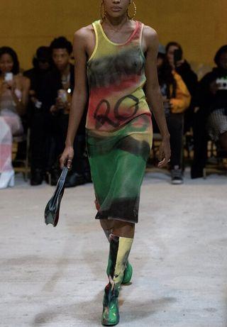 Freedom Rasta Tank Dress