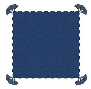 Sapphire Scalloped Tassel Napkin Set